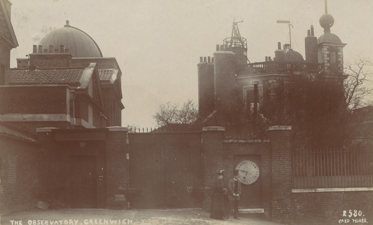 The Royal Observatory Greenwich - where east meets west: The